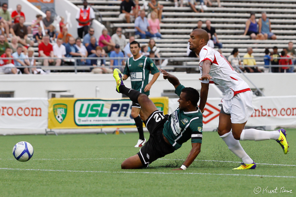 at the Citrus Bowl in Orlando, FL on July 17, 2011. Orlando City defeated the Rochester Rhinos 2-1. (Kurt Rivers/KnightNews.com)..