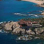 Aerial view of Chileno beach.<br /> Cabo San Lucas, Baja California Sur. Mexico