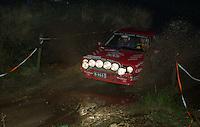 #62, Antero Laine, Pekka Hokkanen, Lancia Delta HF Integrale,