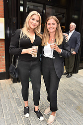 Left to right, Daisy Hooper and Augusta Redding at a party to celebrate the launch of Hans' Bar & Grill, 11 Cadogan Gardens, Chelsea, London, England. 07 June 2018.