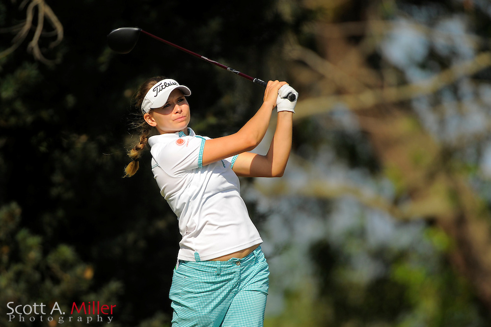 Marita Engzelius during the first round of the Florida's Natural Charity Classic at Lake Wales Country Club on March {today day}, 2014 in Lake Wales, FL.<br /> <br /> &copy;2014 Scott A. Miller