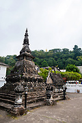 Stupa at Wat May Souvannapoumaram, Luang Prabang, Laos.
