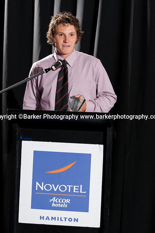 Northern Districts Cricket Awards, Batsman of the Year BJ Watling, Tainui Novotel Hotel, Friday 8 April 2011, Hamilton, New Zealand.  Photo: Stephen Barker/Barker Photography/PHOTOSPORT  ©Barker Photography www.barkerphotography.co.nz