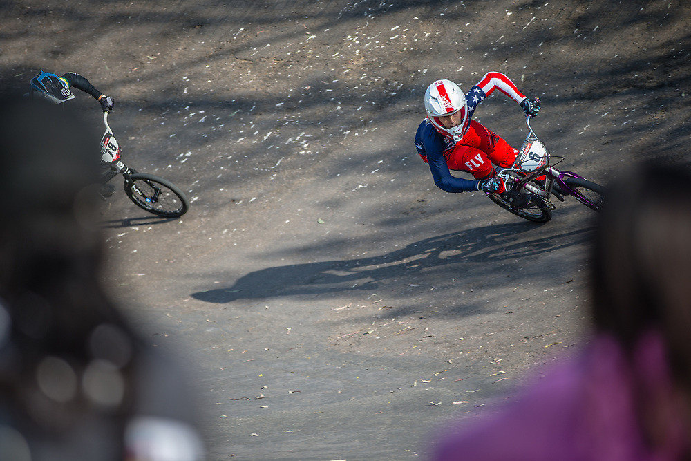 #6 (STANCIL Felicia) USA at Round 10 of the 2019 UCI BMX Supercross World Cup in Santiago del Estero, Argentina