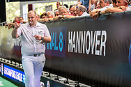 Referee<br /> WASPO Hannover (white cap) vs AN Brescia (blue cap)<br /> Semifinals 5-8 <br /> LEN Champions League Final Eight 2019<br /> StadionBad 07/06/2019<br /> Hannover Germany GER<br /> Photo © G.Scala/Deepbluemedia/Insidefoto