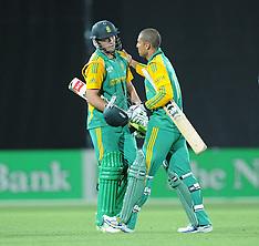 Napier-Cricket, New Zealand v South Africa, ODI