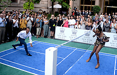 NY: Lotte New York Palace Tennis Invitational - 25 Aug 2017