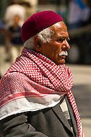Man walking, Tunis, Tunisia