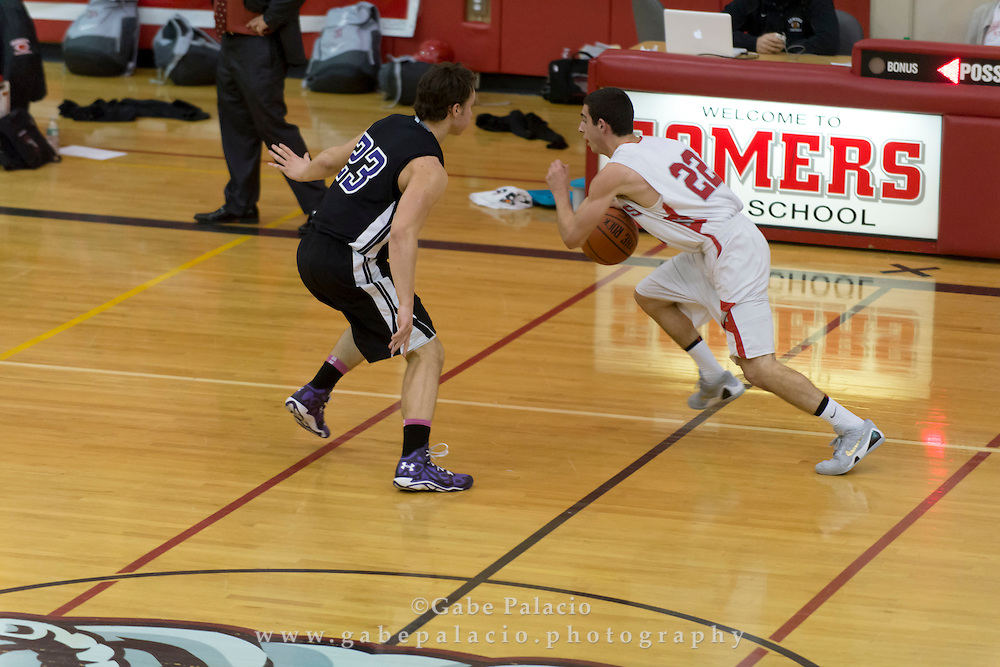 John Jay Varsity Basketball game at Somers High School on February 4, 2015. (photo by Gabe Palacio)