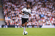 Fulham (22) Cyrus Christie during the Premier League match between Fulham and Crystal Palace at Craven Cottage, London, England on 11 August 2018.