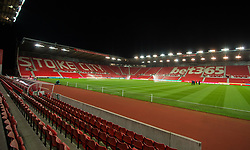 STOKE-ON-TRENT, ENGLAND - Wednesday, November 29, 2017: A general view inside the Bet365 Stadium before the FA Premier League match between Stoke City and Liverpool at the Bet365 Stadium. (Pic by Peter Powell/Propaganda)