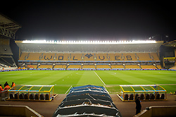 WOLVERHAMPTON, ENGLAND - Tuesday, January 31, 2012: A general view of Molineux, the home of Wolverhampton Wanderers, before the Premiership match against Liverpool. (Pic by David Rawcliffe/Propaganda)