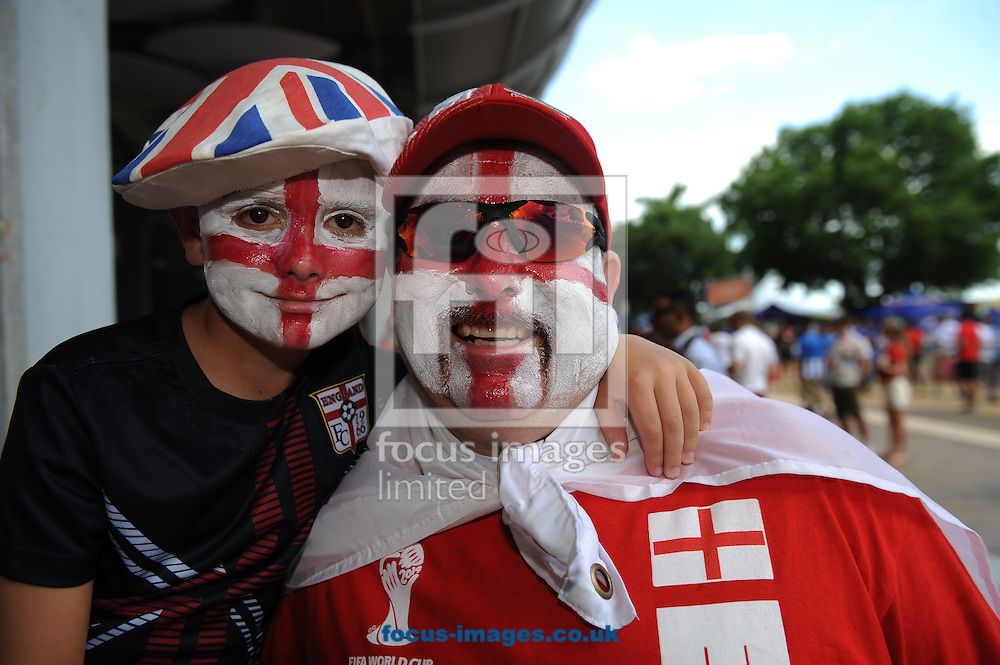 Fans of England prior to the International Friendly match at Sun Life Stadium, Miami Gardens<br /> Picture by Daniel Hambury/Focus Images Ltd +44 7813 022858<br /> 07/06/2014