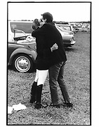 Kelly and Calvin Klein. Bridgehampton Horse Show. 1989. © Copyright Photograph by Dafydd Jones 66 Stockwell Park Rd. London SW9 0DA Tel 020 7733 0108 www.dafjones.com