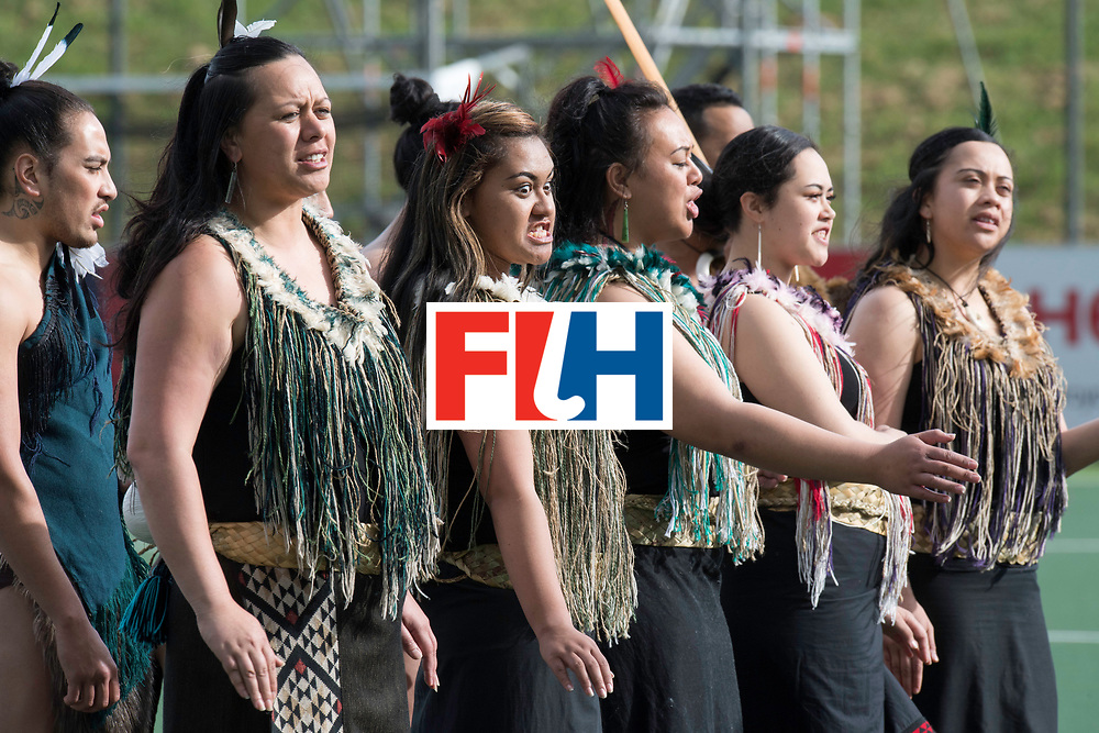 AUCKLAND - Sentinel Hockey World League final women<br /> Opening act.<br /> WORLDSPORTPICS COPYRIGHT FRANK UIJLENBROEK