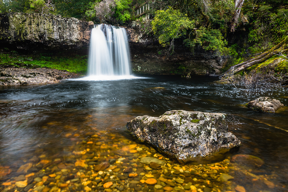 Knyvet Falls in Cradle Mountain- Lake St Clair National Park, Tasmania