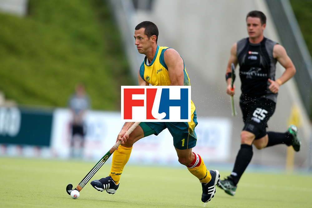 Mens Champions Trophy, Monchengladbach, Germany, 2010<br /> Australia v New Zealand Day 1<br /> Jamie Dwyer<br /> Credit: Grant Treeby<br /> <br /> Editorial use only (No Archiving) Unless previously arranged