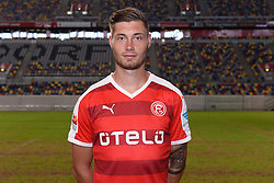 02.07.2015, Esprit Arena, Duesseldorf, GER, 2. FBL, Fortuna Duesseldorf, Fototermin, im Bild Christian Strohdiek ( Fortuna Duesseldorf / Portrait ) // during the official Team and Portrait Photoshoot of German 2nd Bundesliga Club Fortuna Duesseldorf at the Esprit Arena in Duesseldorf, Germany on 2015/07/02. EXPA Pictures &copy; 2015, PhotoCredit: EXPA/ Eibner-Pressefoto/ Thienel<br /> <br /> *****ATTENTION - OUT of GER*****