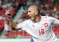 Fotball<br /> Polen<br /> Foto: Wrofoto/Digitalsport<br /> NORWAY ONLY<br /> <br /> 13.10.2007<br /> Mariusz Lewandowski (POL)
