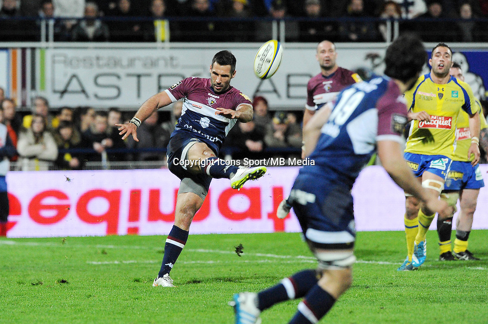 Thibault Lacroix  - 13.03.2015 - Clermont / Begles Bordeaux  -  20eme journee de Top 14<br /> Photo : Jean Paul Thomas  / Icon Sport<br /> <br />   *** Local Caption ***