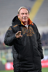 16.01.2012, Stadio Artemio Franchi, Florenz, ITA, TIM Cup, AC Florenz vs AS Rom, Viertelfinale, im Bild Zdenek Zeman Roma // during the Italian TIM Cup quarterfinal match between ACF Fiorentina and AS Roma at the Artemio Franchi Stadium, Florence, Italy on 2013/01/16. EXPA Pictures © 2013, PhotoCredit: EXPA/ Insidefoto/ Paolo Nucci..***** ATTENTION - for AUT, SLO, CRO, SRB, BIH and SWE only *****