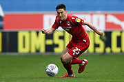 Nottingham Forest midfielder Joe Lolley (23) during the EFL Sky Bet Championship match between Wigan Athletic and Nottingham Forest at the DW Stadium, Wigan, England on 20 October 2019.
