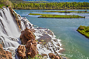 Fall Creek Waterfall in Swan Valley Idaho along the Snake River