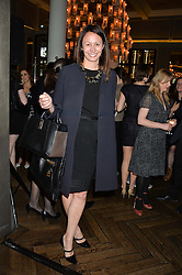 CAROLINE RUSH Chief Executive of the British Fashion Council at a screening of 2 short films as part of the Corinthia Hotel's Artist in Residence held at The Corinthia Hotel, Northumberland Avenue, London on 12th May 2014.