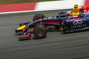 March 28, 2014 - Sepang, Malaysia. Malaysian Formula One Grand Prix. Daniel Ricciardo (AUS), Red Bull-Renault<br /> <br /> © Jamey Price / James Moy Photography