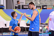 DESCRIZIONE: Torino FIBA Olympic Qualifying Tournament <br /> GIOCATORE: Danilo Gallinari<br /> CATEGORIA: Nazionale Italiana Italia Maschile Senior Allenamento<br /> GARA: FIBA Olympic Qualifying Tournament Allenamento<br /> DATA: 04/07/2016<br /> AUTORE: Agenzia Ciamillo-Castoria