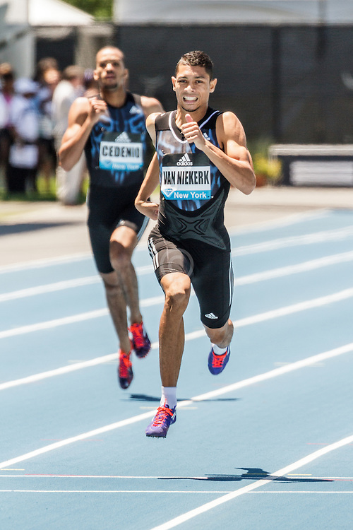 adidas Grand Prix Diamond League Track & Field: Men's 400m, Wayde Van Niekerk, RSA