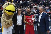premiazione<br /> Nazionale Italiana Maschile Senior - 2018 VTH Hamburg Supercup<br /> Germania Germany - Italia Italy <br /> FIP 2018<br /> Amburgo, 08/09/2018<br /> Foto M.Ceretti / Ciamillo-Castoria