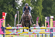 Evento ridden by Francis Whittington in the Equi-Trek CCI-4* Show Jumping during the Bramham International Horse Trials 2019 at Bramham Park, Bramham, United Kingdom on 9 June 2019.