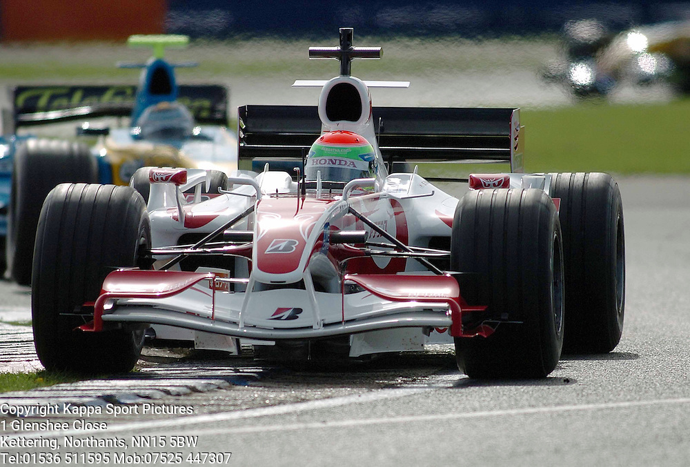 SAKON YAMAMOTO Super Aguri  F1 Formula One Test Silverstone 19th September 2006 :Photo Mike Capps