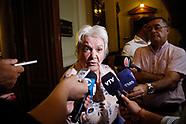 Lucia Topolansky, mesa politica.
