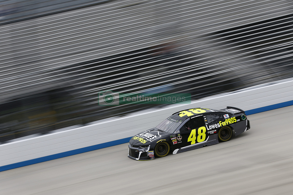 October 5, 2018 - Dover, Delaware, United States of America - Jimmie Johnson (48)  takes to the track to practice for the Gander Outdoors 400 at Dover International Speedway in Dover, Delaware. (Credit Image: © Justin R. Noe Asp Inc/ASP via ZUMA Wire)