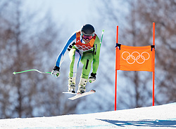 13.02.2018, Jeongseon Alpine Centre, Pyeongchang, KOR, PyeongChang 2018, Ski Alpin, Herren, Kombination, im Bild Bostjan Kline (SLO) // Bostjan Kline of Slovenia during the Mens Ski Men's Alpine Combined of the Pyeongchang 2018 Winter Olympic Games at the Jeongseon Alpine Centre in Pyeongchang, South Korea on 2018/02/13. EXPA Pictures © 2018, PhotoCredit: EXPA/ Johann Groder