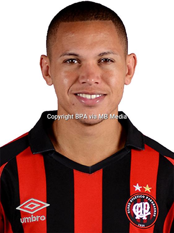 Brazilian Football League Serie A / <br /> ( Clube Atletico Paranaense ) - <br /> Marcos Guilherme de Almeida Santos Matos &quot; Marcos Guilherme &quot;