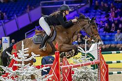 De Proft Anouk, BEL, Q Bee vh Dieselhof Z<br /> Jumping Mechelen 2019<br /> © FEI/Dirk Caremans<br />  30/12/2019