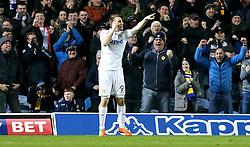 Chris Wood of Leeds United celebrates scoring a goal - Mandatory by-line: Robbie Stephenson/JMP - 14/02/2017 - FOOTBALL - Elland Road - Leeds, England - Leeds United v Bristol City - Sky Bet Championship