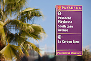 Pasadena Informational Sign