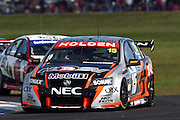 Rick Kelly and Paul Radisich driving the HSV Dealer Team Commodoreat the Phillip Island L&H 500 ~ V8 Supercar Series Round 9 at the Phillip Island Grand Prix Circuit, Victoria Australia on Sunday 14th September 2008. Photo: Clay Cross/PHOTOSPORT