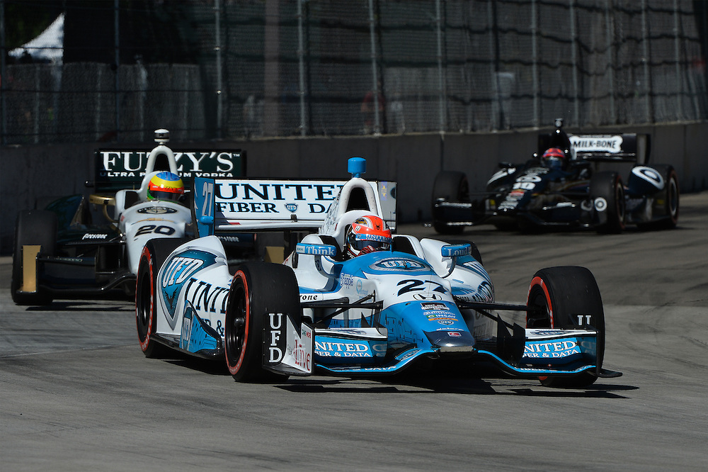 James Hinchcliffe, The Raceway at Belle Isle Park, Detroit, MI USA 6/1/2014