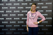 Adnieszka Radwanska gets new Rado watch before her training session at Mera Tennis Club in Warsaw, Poland.<br /> <br /> Poland, Warsaw, December 12, 2013<br /> <br /> Picture also available in RAW (NEF) or TIFF format on special request.<br /> <br /> For editorial use only. Any commercial or promotional use requires permission.<br /> <br /> Mandatory credit:<br /> Photo by &copy; Adam Nurkiewicz / Mediasport
