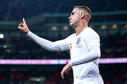 Jordan Henderson of England cuts a frustrated figure - Mandatory by-line: Robbie Stephenson/JMP - 15/11/2018 - FOOTBALL - Wembley Stadium - London, England - England v United States of America - International Friendly
