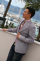 Actor Andy Lau at the 'Blind Detective' photocall at the Cannes Film Festival Monday 20th May 2013