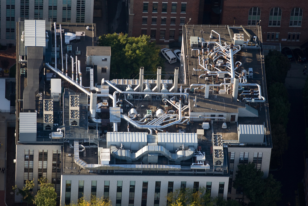 Northeastern University -Mugar Life Sciences Building - Roof top mechanical systems