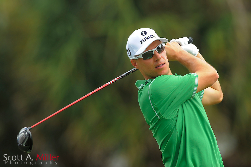 Ben Crane during the first round of the World Golf Championship Cadillac Championship on the TPC Blue Monster Course at Doral Golf Resort And Spa on March 8, 2012 in Doral, Fla. ..©2012 Scott A. Miller.