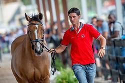 Guerdat Steve, SUI, Bianca<br /> World Equestrian Games - Tryon 2018<br /> © Hippo Foto - Jon Stroud<br /> 22/09/2018