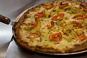 Pesto Artichoke Pizza